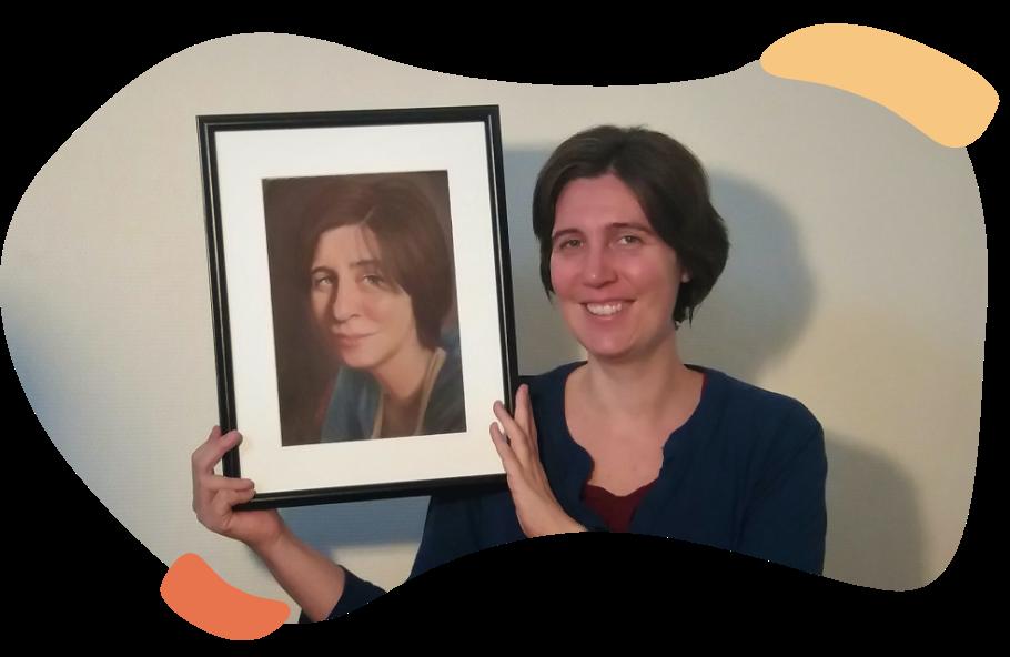portret op bestelling vanaf een foto